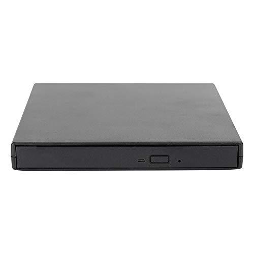 DVD Writer, ABS Black DVD Driver, for Desktop Laptop(Black)