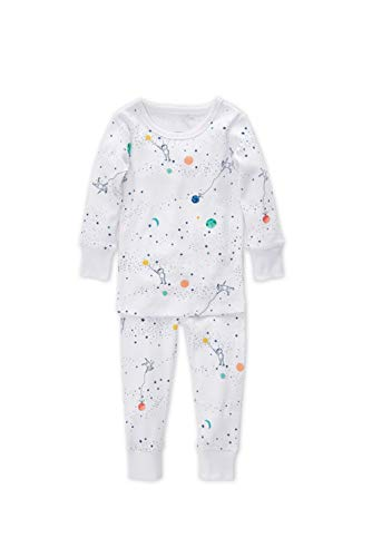 aden + anais Pajama Set, 2 Piece, 100% Cotton Sleepwear, Orbit, Size 3T