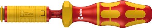 Wera 05074750001 7441 VDE Kraftform Einstellbarer Drehmoment Handhalter, 1.2-3.0 Nm, 9 x 192 mm