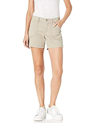 UNIONBAY Women's Alix Short, Taupe, 12