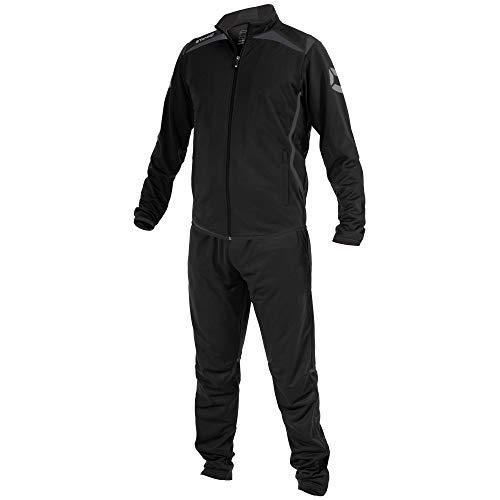 Stanno Forza Polyester Anzug - black-grey, Größe Stanno:116