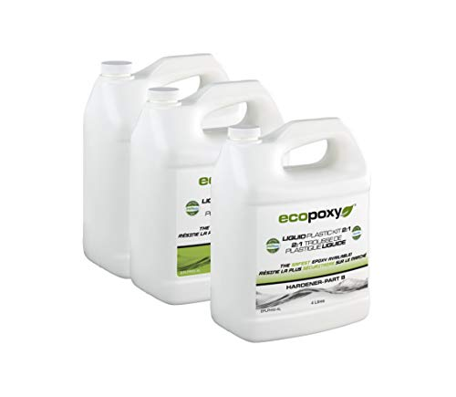Ecopoxy Liquid Plastic 2:1 Ratio (12 liters)