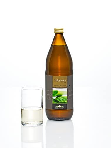 Amazonas Naturprodukte • Bio Aloe Vera Premium Saft (1 Liter) • Mit mind. 1200 mg Aloverose • Aus Mexiko • Hand-filetiertes Blattgel • Ohne Konservierungsstoffe • 100%...