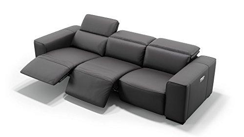 sofanella Leder 3-Sitzer XXL Sofa Sofagarnitur 3-Sitzer Wohnlandschaft Ledergarnitur