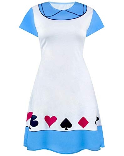 Disney Alice In Wonderland Costume Dress