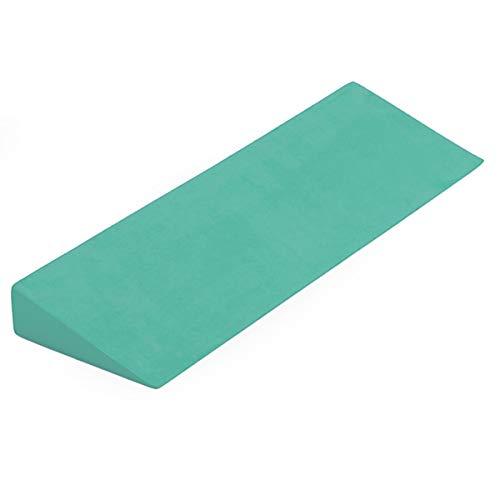 Cuña Yoga Studio Yoga – Verde menta, 50 x 15 x 5 cm, antideslizante EVA cuña para yoga Iyengar, accesorio de ejercicio ligero