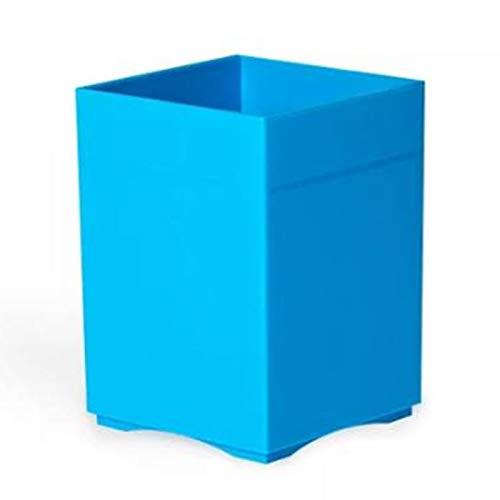 YuxahiugBt Multifunción de Escritorio de Escritorio del Organizador del lápiz Caja de Almacenamiento Caja de Almacenamiento a 4 Colores Disponibles (Color : Blue)