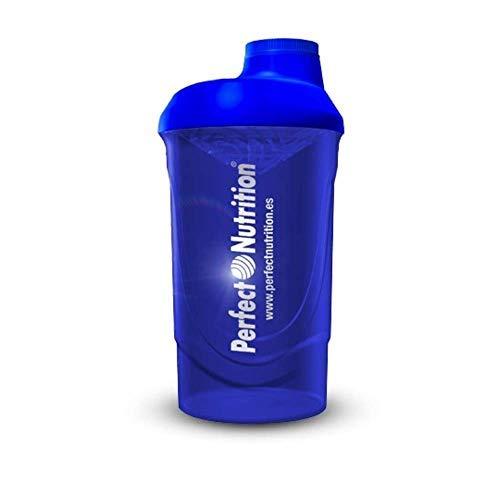 Gobelet Fitnet pour mélangeur de protéines/shake - bouteille de Shaker Shaker de 600 ml, boissons de remise en forme, smoothies (sans BPA) avec indicateur