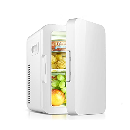 LIHUAN Refrigerador Pequeño De Doble Propósito para El Hogar Y El Mini Automóvil 8L