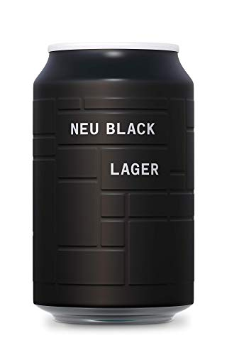 AND UNION Craft Beer - Neu Black Lager - 24 x 330ml Dosen - inkl. 6,00€ Pfand - 5