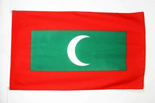 AZ FLAG Flagge MALEDIVEN 150x90cm - Republik MALEDIVEN Fahne 90 x 150 cm - flaggen Top Qualität