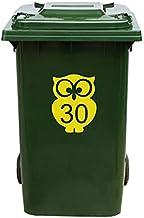 Kliko Sticker/Vuilnisbak Sticker - Nummer 30-17 x 22 - Geel