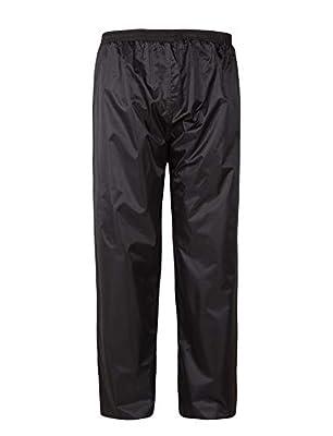 SWISSWELL Men's Waterproof Rain Pants Lightweight Windbreaker Pants by SWISSWELL