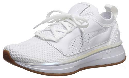 PUMA x Selena Gomez Runner Women's Shoe, Puma White, 7.5 M US