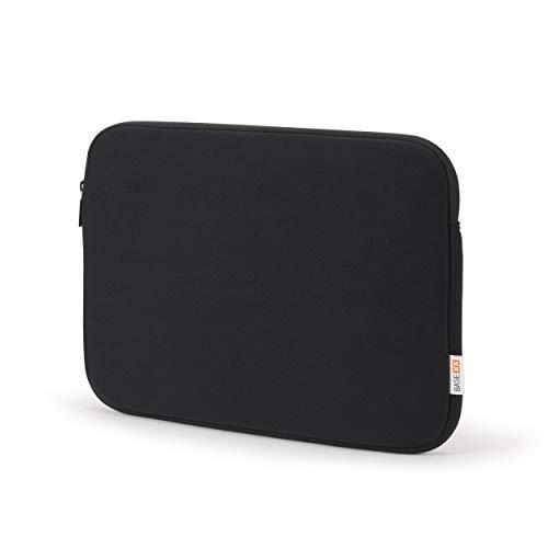 Base xx Laptop Sleeve 14 Zoll – 14.1 Zoll Notebookhülle - Notebooktasche mit Metallreißverschluß, stoßfeste Polsterung, Jersey Stoff, schwarz