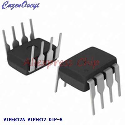 1 teile/los VIPER12A VIPER12 DIP-8 AC/DC Wandler Niedrig OFF-LINE S Primär neue original Auf Lager