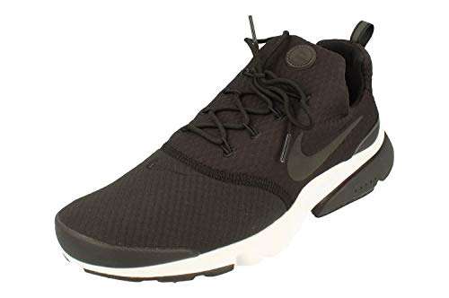 Nike Hombre Presto Fly Running Trainers AV7011 Sneakers Zapatos (UK 10 US 11 EU 45, Black White 001)