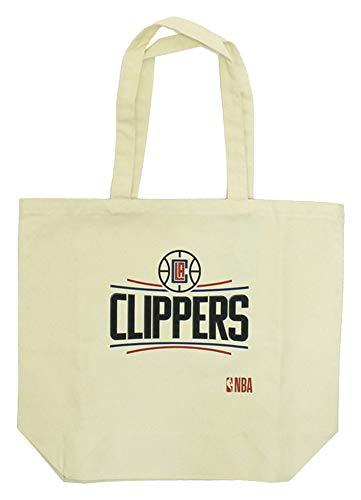 Los Angeles Clippers (ロサンゼルス・クリッパーズ) 公式 キャンバストートバッグ Lサイズ NBA31999 ホワイト