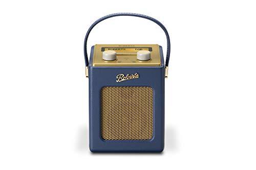 Roberts Radio Revival Mini DAB DAB+ FM Digital Radio - Midnight Blue - Amazon Exclusive