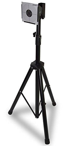 Nitehawk - Zielscheibenhalter mit Ständer - für Luftgewehr und Softair-Pistole - inkl. 100 Zielscheiben