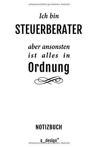 Notizbuch für Steuerberater: Originelle Geschenk-Idee [120 Seiten kariertes blanko Papier] _