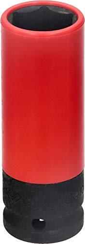 BRILLIANT TOOLS BT691008 KS Tools Vaso para Llantas de Aluminio (1/2', Ancho de Llave 21 mm)