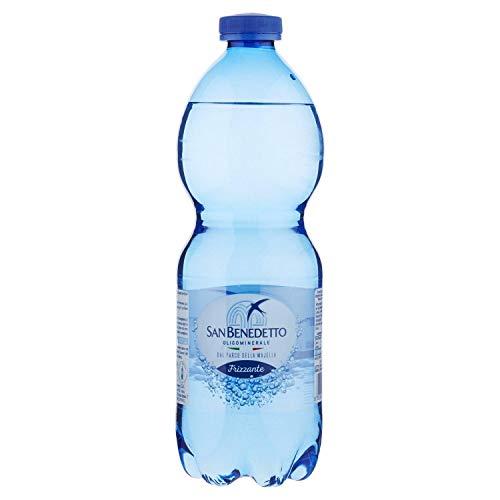 Confezione Acqua San Benedetto Frizzante 0,50 cl plastica x 24 pz