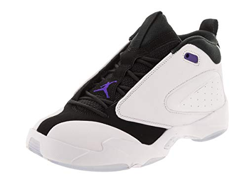 Jordan Nike Jumpman Quick 23 Men's Basketball Shoes, (White/Dark Concord/Black, 11.5 M US)