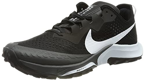 Nike Air Zoom Terra Kiger 7, Scarpe da Corsa Uomo, Black/Pure Platinum-Anthracite, 45 EU