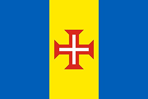 DIPLOMAT Flagge Madeira | Querformat Fahne | 0.06m² | 20x30cm für Flags Autofahnen