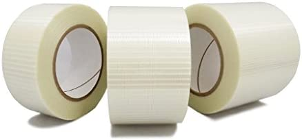 T R U FIL 835B D Transparent Bi Directional Filament Strapping Tape 1 2 in x 60 yds product image