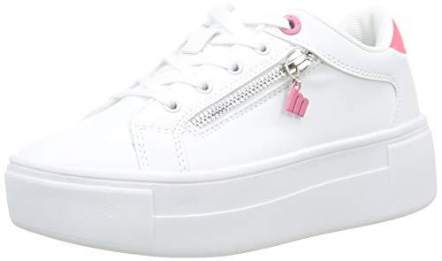 MTNG Attitude Damen 69530 Sneakers, Weiß (Action Pu Blanco/Vinyl 2 Fucsia C45064), 40 EU
