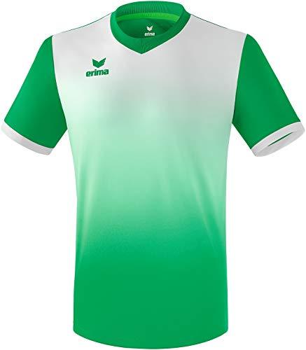 ERIMA Kinder Trikot Leeds Trikot, smaragd/weiß, 140, 3131839