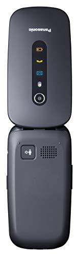 Panasonic Kx-tu466exbe Black Easy Phone 2.4 Clamshell