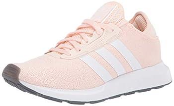 adidas Originals Women s Swift Essential Sneaker Pink Tint/White/Silver 5.5