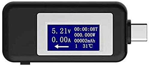 SLL Mini Tipo C USB Tester Meter DE Voltaje Corriente Herramientas DE Pantalla Digital Voltaje DE VOLTÍTER Ammeter Detector de energía Detector de Instrumentos Multifunción