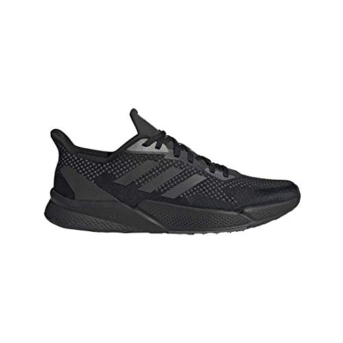 adidas Men's X9000L2 Running Shoe, Black/Black/Grey, 11