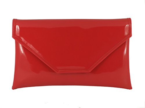 LONI - Cartera de mano para mujer, color Rojo, talla Grosse