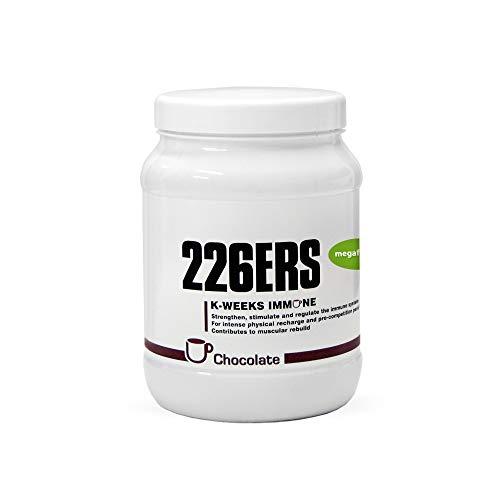 226ERS K-Weeks Immune, Fortalece el Sistema Inmune con Proteína Whey Aislada, Megaflora 9 EVO, Jalea Real y Vitamina B6, Chocolate - 500 gr