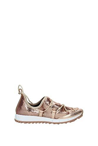 JIMMY CHOO Sneakers Damen - Glitter (ANDREATQSTEAROSE) 36 EU