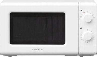 Daewoo KQG-6620TW - Microondas (Encimera, Microondas con grill, 20 L, 800 W, Giratorio, Blanco)
