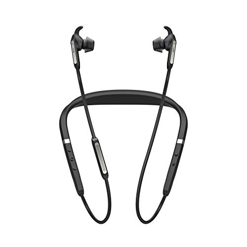 Jabra Elite 65e Cuffie Intrauricolari con Collare Wireless, ANC e Accesso One-Touch...