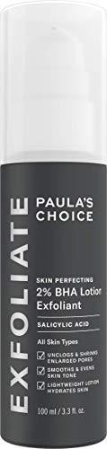 Paula's Choice Skin Perfecting 2% BHA Loción Exfoliante - Peeling Facial Reduce Puntos Negros, Poros y Acne - con Ácido Salicílico & Alantoina - Todos Tipos de Piel - 100 ml