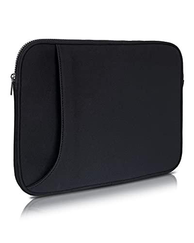 """VASHDE Custodia per laptop da 13,3 pollici, compatibile con MacBook Air m1, MacBook Pro, 13"""", 12.3 Surface Pro X/7/6/5/4/3, colore: Nero"""