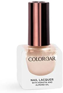 Colorbar Nail Lacquer with Keratin and Almond Oil, 12 ml Model (number/Name) 813 Nude Pearl