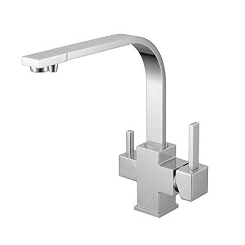 BALLYE Drinking Water Filter Tap Kitchen Faucet With Pull-Out Sprayheadpolished Chrome Bathroom Faucet High End Bathroom Fixtures