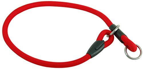 Wouapy Collier Strangler en Corde de Montagne par WOUAPY pour Chien Rouge Collier de 60 cm de Long