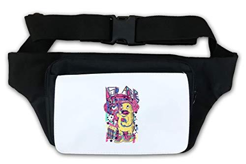 Disco Apocalypse Boom Box Bear Waist Bag