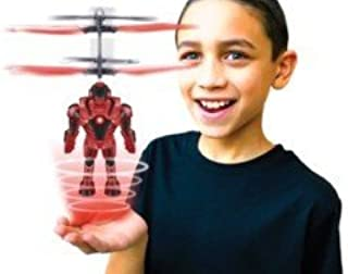 Blue Sky Wireless Space Flyers Robot Brigade Captain Red Flare