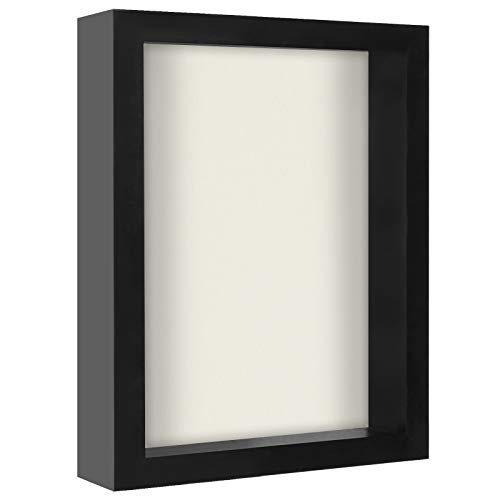 Americanflat 8x10 Shadow Box Frame, Black